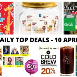 "BQ's Daily Top Deals: Latest Taxi Codes, Latest e-Coupons from Burger King & The Manhattan Fish Market, SilkAir Exclusive Roadshow Deals, 50% OFF at Toys ""R"" Us & More!"