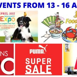 Top Events Happening at Singapore Expo This Good Friday Long Weekend!