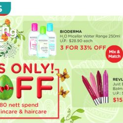 Watsons: $8 OFF Online Exclusive Eggxciting Sale for 4 Days!