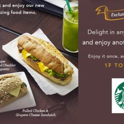Starbucks: Get Any 2 Food Items & Enjoy Another FREE