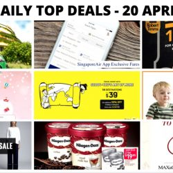 BQ'S Daily Top Deals: SingaporeAir App Exclusive Fares, MILO Van at Safra Punggol, Korea Travel Fair 2017, Scoot/Tigerair Early Bird Sale Fares & More!