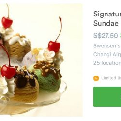 Groupon: Swensen's Signature Mega Sundae Earthquake at 60% OFF!