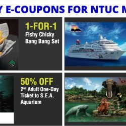 NTUC Members: May Day Special 1-for-1 & 50% OFF e-Coupons for Delifrance, Gong Cha, Pizza Hut, Star Cruises & More