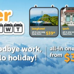 Tigerair: Enjoy the best midweek deals with all-in one-way fares from $39!