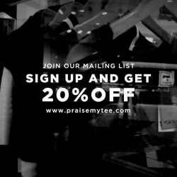 [Praise] Check out our website and sign up now to get your discount code!