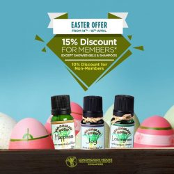 [Lemongrass House] This Easter, bless yourself with some delightful fragrances from Lemongrass House.