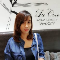 [Lacoco Hair Salon] Lacoco offers Sinka Magic Setting who has naturally fizzy hair & chemically damaged hair bottom part  but to achive nice style