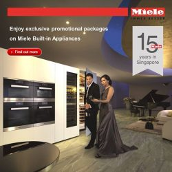 [Harvey Norman] Miele is celebrating their 15th Anniversary in Singapore, with a bang at HarveyNormanSG!
