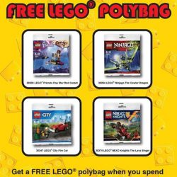 [The Brick Shop] FREE* LEGO® POLYBAG!
