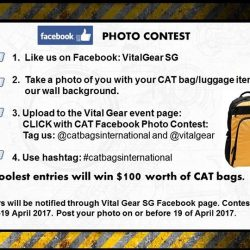[BHG Singapore] STAND to win $100* worth of CAT Bags!