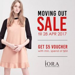 [IORA] Sale continues till 28 Apr at iORA Citylink!