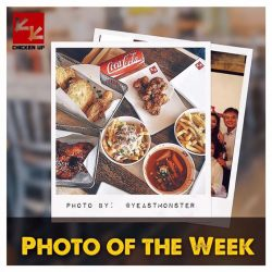 [CHICKEN UP] PHOTO OF THE WEEK is by @yeastmonster or Adam Ameng who has such a knack at doing flatlay photography such