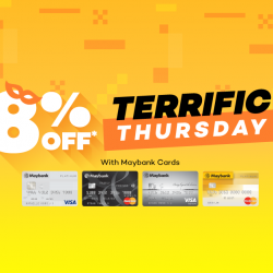 [Lazada Singapore] Maybank Terrific Thursday!