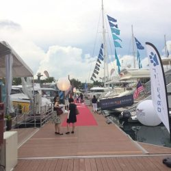 [Goshen Art Gallery] Checking in Onedegree15 for luxury yachting event.