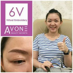 [Avone Beauty Secrets – Beauty Brows Hair Nails Spa] Thank you dear customer Dyana for sharing your satisfaction and affirmation for your ABS 6V Korean Virtual Brows Embroidery!