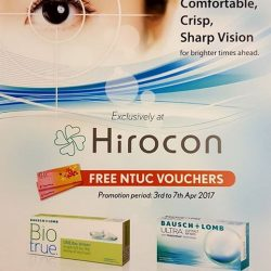 [Hirocon] Free NTUC voucher with minimum 4 boxes purchase