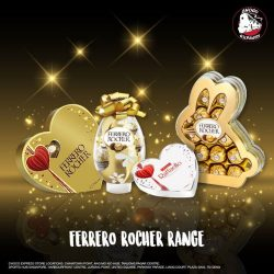 [Choco Express] This Easter, we've got the PERFECT chocolates from our Ferrero Rocher range for you!