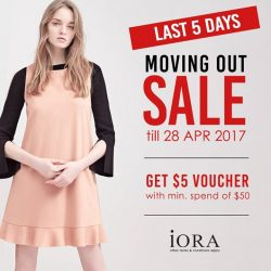 [IORA] Last 5 days before the sale ends at iORA Citylink Mall!