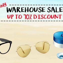 [Capitol Optical] Save up to 70% OFF Sunglasses & Frames from Coach, Bottega Venetta, Gucci, Fendi, Police & more at our Warehouse Sale, happening
