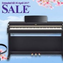 [YAMAHA MUSIC SQUARE] Last chance to grab the last few units of YDP-162PE at an amazing discount!