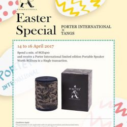 [Porter International] Happy Easter 2017!