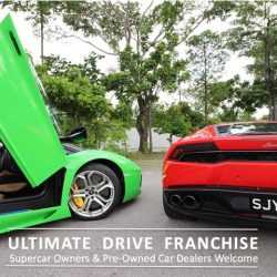 [Ultimate Drive] We are ready to expand outside Singapore.