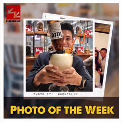 [CHICKEN UP] PHOTO OF THE WEEK winner is Ms.