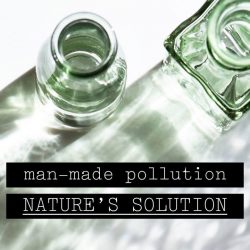 [Origins] Here at Origins, we've found a natural way for all of the man-made pollution that happens on a