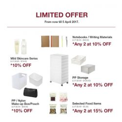 [MUJI to GO] 2 more days to enjoy our limited offer!