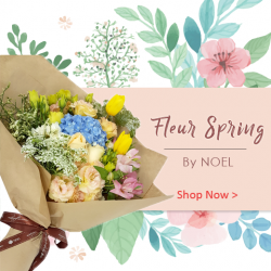 [Noel Gifts] Get into the mood for spring!