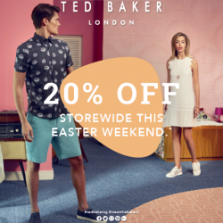 [VivoCity] Have an egg-citing Easter with Ted Baker!