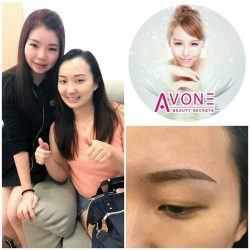 [AVONE BEAUTY SECRETS] DOUBLE THUMBS UP👍👍 for our latest launch ABS Korean Essence Brows Embroidery skillfully crafted by our leading Waterway Point Punggol