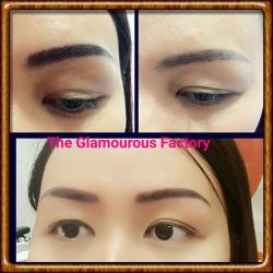 [The Glamourous Factory] Redefine your facial features with our latest eyebrow embroidery technique.