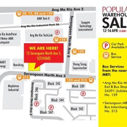 [POPULAR Bookstore] Planning to visit the POPULAR Warehouse Sale between 12 - 16 April?