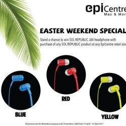 [EpiCentre Singapore] EASTER WEEKEND SPECIAL!