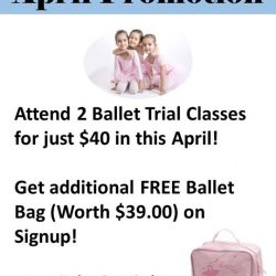 [The Ballet & Music Company] April Trial Promo!