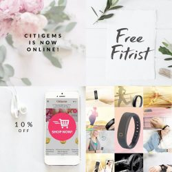 [CITIGEMS] Citigems is now online – and we are giving you great reasons to shop from the comfort of your home this