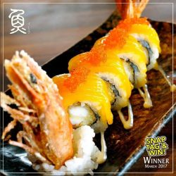 [Sushi Tei] Congratulations to @woo_alan for being our March winner for our 'Snag, Tag & Win' Contest!