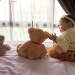 [Hamleys of London] Teddies do not need a heart, for they are already stuffed with love!