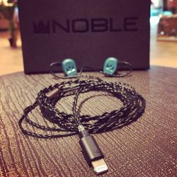 [Stereo] The Noble Lightning Cable is now available online and in-store, affording every Noble IEM and CIEM user instant compatibility