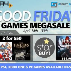 [GAME XTREME] Good Friday Games Megasale【PROMO DURATION】 14/4/17 - 30/4/17【DETAILS】 Been waiting to play some PS4 games,