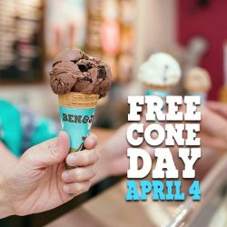 [Ben & Jerry's] Free Cone Day is almost here!