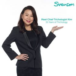 [Svenson] Kim Fong's trichology expertise extends way out of the doors of Svenson.