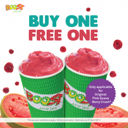 [Boost Juice Bars Singapore] Thursday Special!