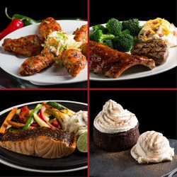 [Tony Roma's] Turn up the heat with Tony Roma's new spiced focus food items that are sure to whet your appetite!