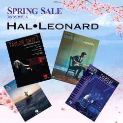 [YAMAHA MUSIC SQUARE] Yamaha Spring Sale Highlight:Looking for scores from the latest radio hits?