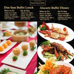 [Dragon Bowl] Dragon Bowl (Marina Square) Alacarte Lunch & Dinner BuffetStarting from 20th Feb 2017 (Monday)*Reservation is STRONGLY recommendedLunch Menu: