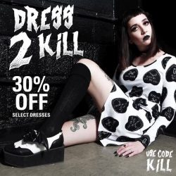 [Iron Fist Clothing] Dress 2 Kill🔪Get 30% OFF Select Dresses with code: KILL