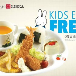 [Saboten] We are excited to announce that ALL KIDS EAT FREE ON WEEKENDS at Saboten!