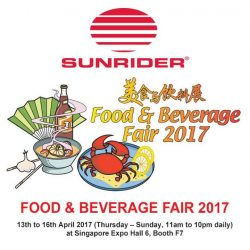 [Sunrider] Sunrider Singapore cordially welcome all to visit our booth at this exciting event.